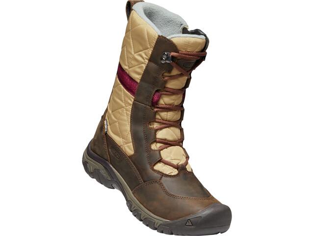Keen Hoodoo III Tall Naiset kengät , beige/ruskea